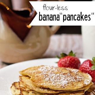 Flour-less Banana Pancakes