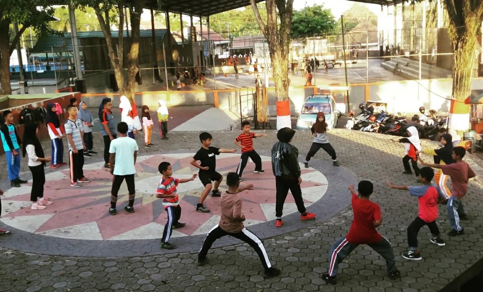 Training Centre PAKKARATENA INKANAS Polres Bone menuju Kejuaraan MSH Cup V