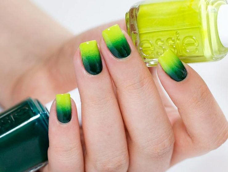 SPLENDID NEON COLORS OMBRE NAILS DESIGN FOR LADIES 1