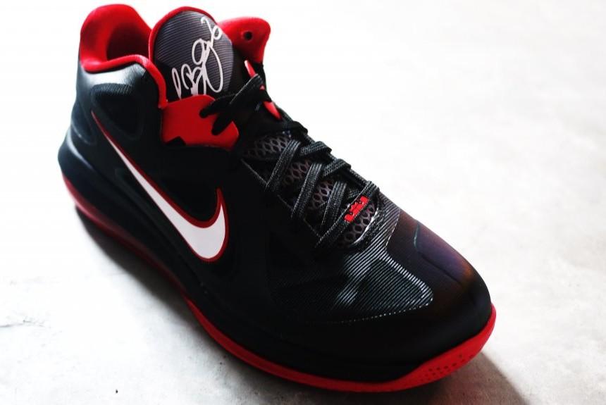 ... Upcoming Nike LeBron 9 Low 8211 Black White Red ...