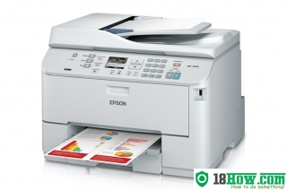 How to Reset Epson WorkForce WP-4520 flashing lights error