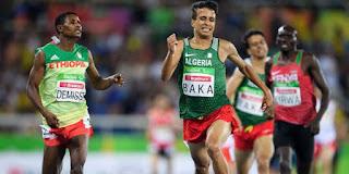 Jeux paralympiques : l'Algérien Abdellatif Baka, champion du 1500 mètres, plus rapide que les valides