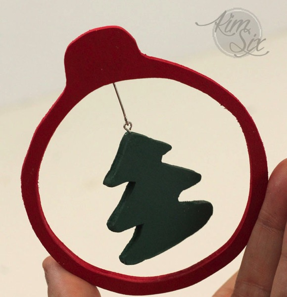 Jewelry hooks for christmas ornaments