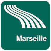 Carte de Marseille off-line
