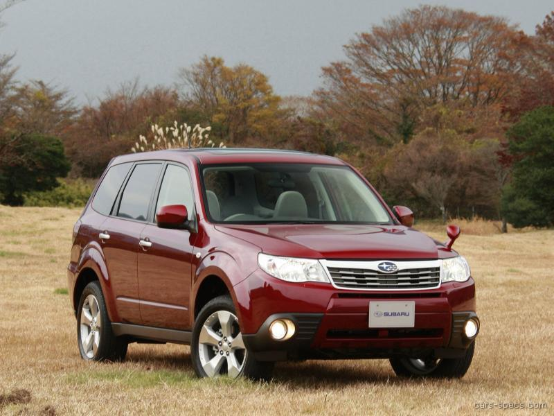 2008 subaru forester wagon specifications pictures prices. Black Bedroom Furniture Sets. Home Design Ideas