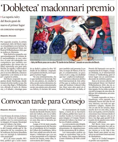 Adrydelrocio for El mural guadalajara jalisco