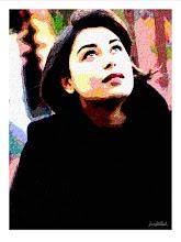 """Photo: Bruno Steinbach. """"Juliana Steinbach I"""". Infogravura, 42 x 29,7 cm, João Pessoa, Paraíba, Brasil."""