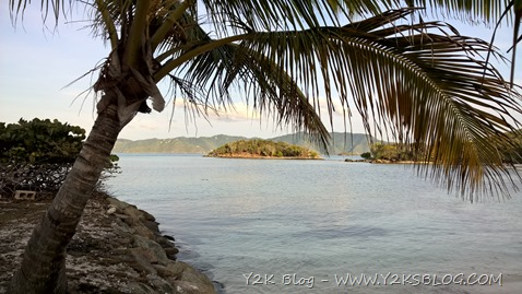 Vista su Eas End Harbour - Jost Van Dyke - BVI