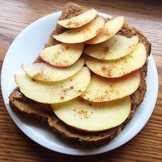 Apple Peanut Butter Toast.