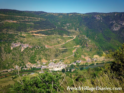 French Village Diaries Mini Cooper road trip Tarn Gorges