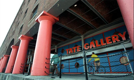 Interior Decoration at the Tate Galery Liverpool
