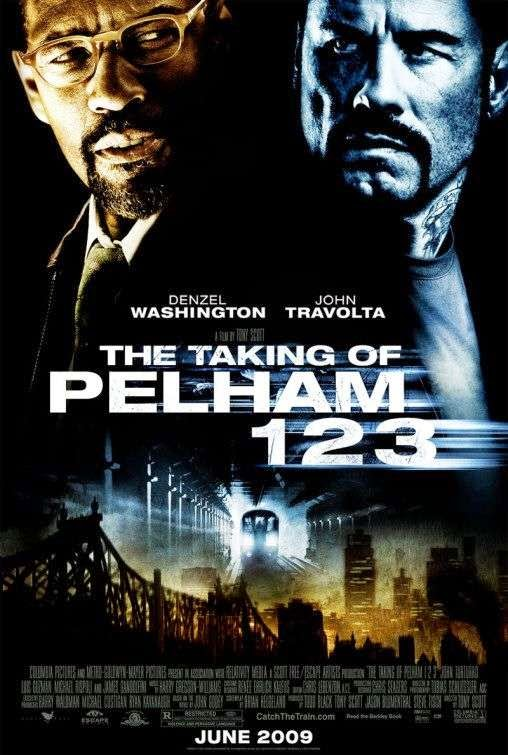 Poster Of The Taking of Pelham 1 2 3 (2009) Full Movie Hindi Dubbed Free Download Watch Online At Alldownloads4u.Com