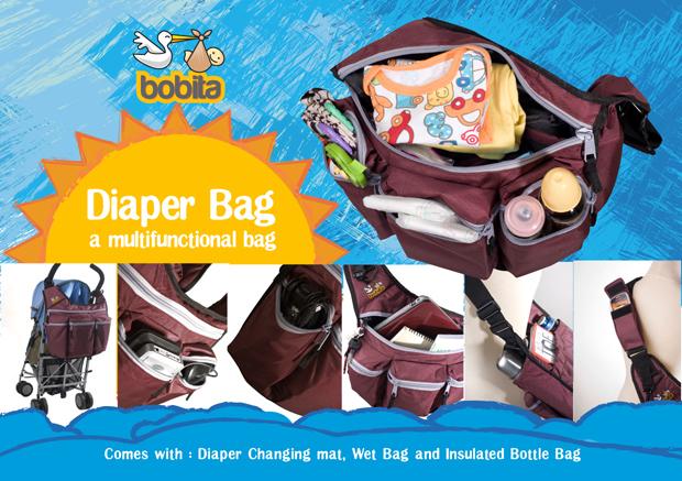 Bobita Diaper Bag