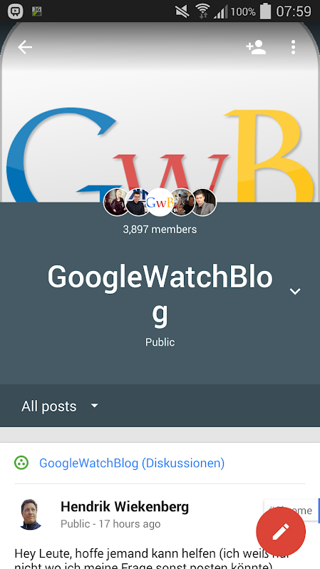 Google+ Communitys