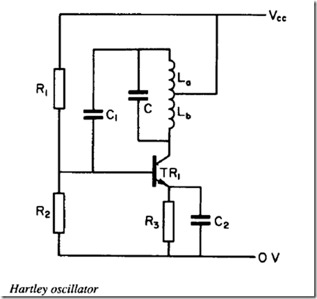 Hartley oscillator and Phase-shift oscillators  | electronic components
