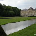 Château du Marais : parterre est du château