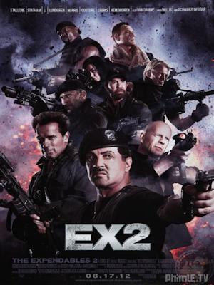 Phim Biệt Đội Đánh Thuê 2 - The Expendables 2 (2012)