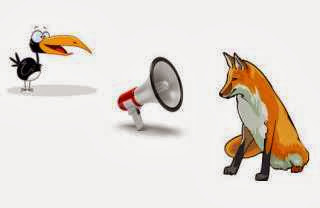 La zorra y el cuervo griton
