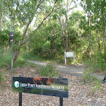 Dilkera Ave entrance to Green Point Reserve (389984)