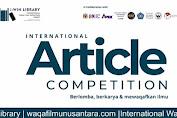 Tiga Artikel dari Unismuh Raih Juara Lomba Menulis di Universitas Sains Malaysia