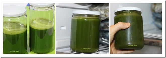 7-Sucs verds cuinadiari-congelat suc
