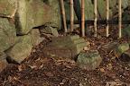 彦根城:転用石