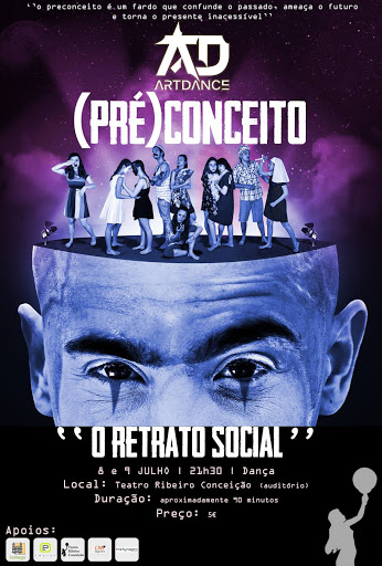 Espetáculo - (PRÉ)CONCEITO – O retrato social - 8 e 9 de julho