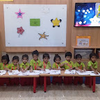 Star day Celebrated by Nursery Morning Section at Witty World, Chikoowadi (2018-19)