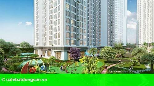 Hình 1: Tòa căn hộ Park 5 – Vinhomes Times City chính thức mở bán