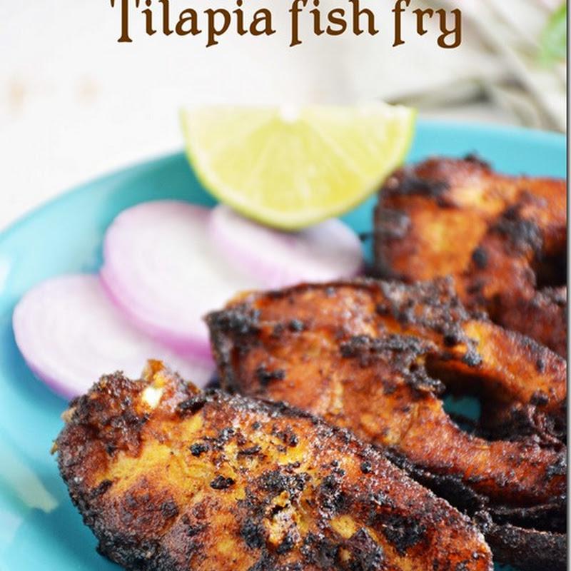 Tilapia fish fry / Meen varuval