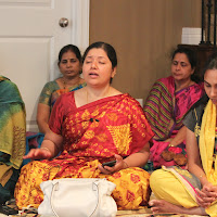 Satsang at Gopi-Swarna's Home
