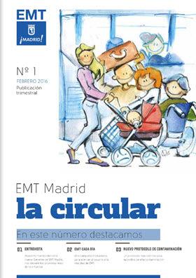 Revista corporativa 'La Circular' de la EMT