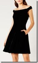 Coast Velvet Dress