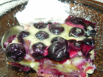 Blueberry Lemon Clafoutis Recipe