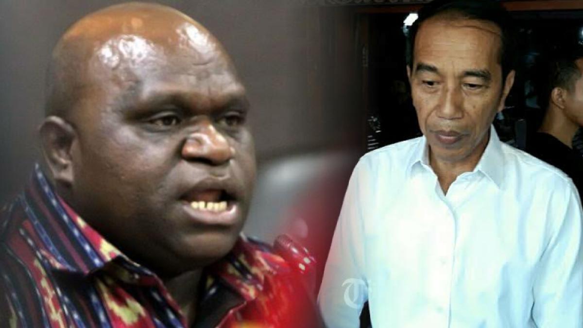 Desak Jokowi Mundur karena Gagal Tangani Covid, Pigai: Negara Lain juga Mundur kok