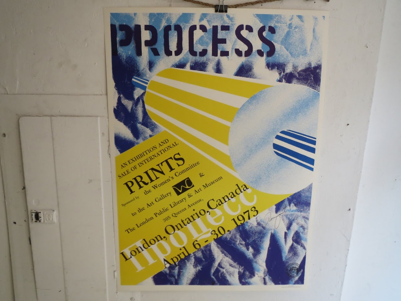 James Rosenquist Signed Exhibition Poster 4