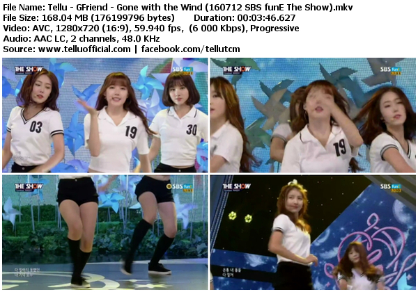 Download perf gfriend gone with the wind navillera sbs fune the show 160712 - Gone with the wind download ...