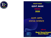Faculty Based Govt. Bank Solution 2020 - Full Book PDF
