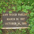 Ann Wood Parlett Lynn Sampselle's Mother In Law Abingdon Episcopal Church Cemetery White Marsh, Gloucester County, Virginia