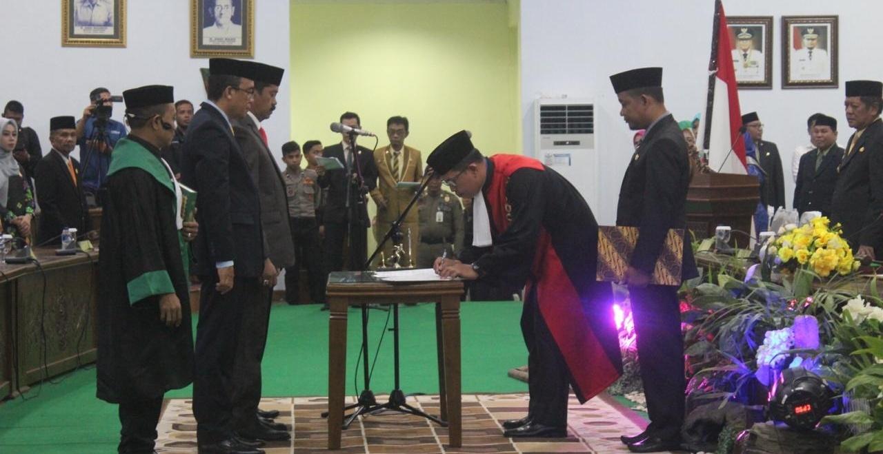 Ketua IWO Soppeng Ucapkan Selamat Kepada Ketua DPRD Kabupaten Soppeng Periode 2019-2024