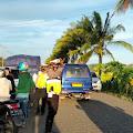Kasat Lantas Polres Soppeng di Dampingi Kanit Turjawali  Melaksanakan Operasi  Yang kerap di Jadikan Freestyle dan Balapan Liar