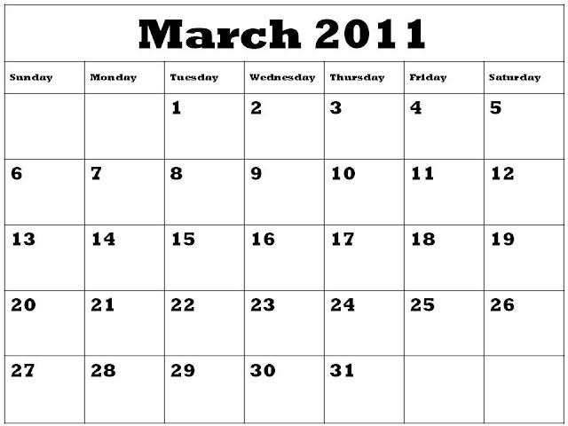 calendar 2011 march image. calendars 2011 march.