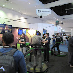 Virtuix adds an entire movement suite to the Oculus Rift so you're actually having to walk to move.  Pretty damn sweet.