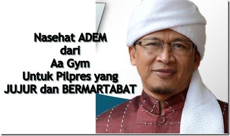 Aa Gym dan pilpres