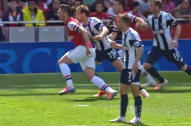 Giroud, Arsenal - WBA