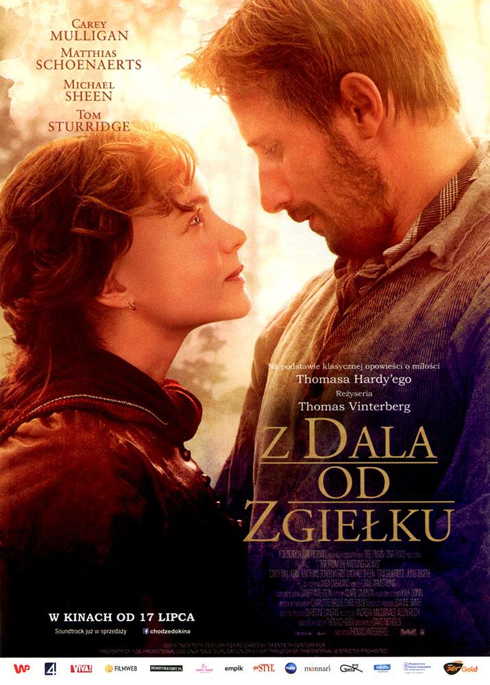 Ulotka filmu 'Z Dala Od Zgiełku (przód)'