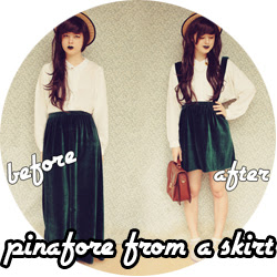 Pinafore DIY