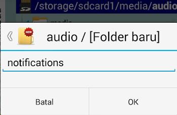 cara ganti nada bbm android