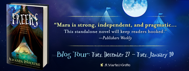 Freeks Blog Tour Banner