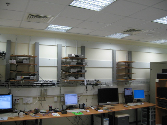 In the picture - SW QA Labs that were designed while taking EMF into consideration
